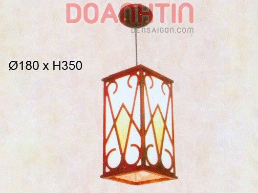 Đèn Thả Da Dê Phong Cách Đơn Giản - Densaigon.com
