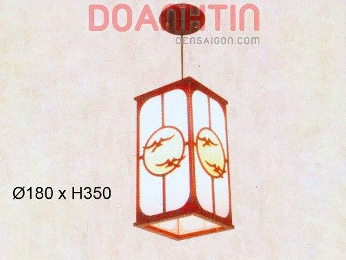 Đèn Thả Da Dê Phong Cách Trang Nhã - Densaigon.com