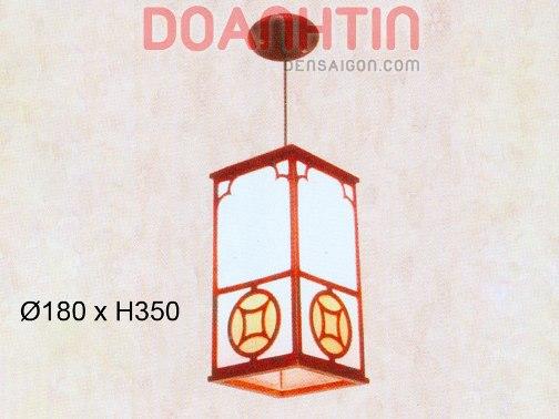 Đèn Thả Da Dê Phong Cách Hiện Đại - Densaigon.com
