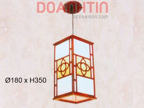 Đèn Thả Da Dê Phong Cách Nhẹ Nhàng - Densaigon.com