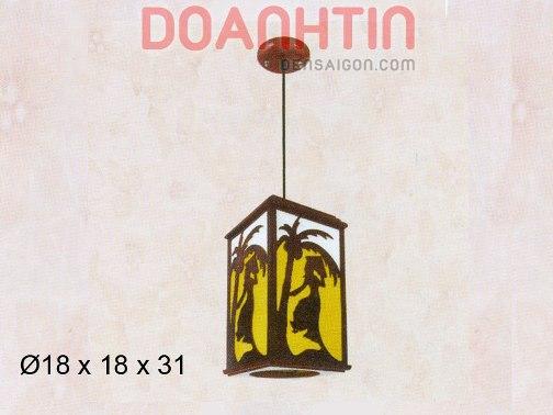 Đèn Thả Da Dê Thiết Kế Cầu Kỳ - Densaigon.com