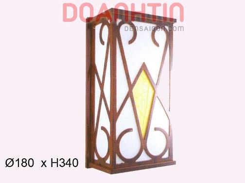 Đèn Tường Da Dê Giá Rẻ Kiểu Dáng Đơn Giản - Densaigon.com