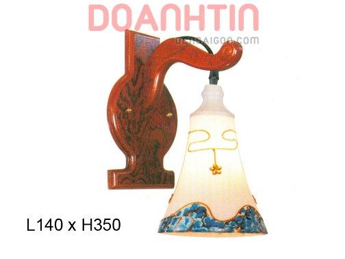 Đèn Tường Gỗ Đẹp Treo Phòng Ngủ - Densaigon.com