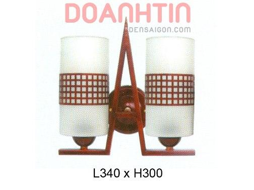Đèn Tường Gỗ Đẹp Lung Linh - Densaigon.com