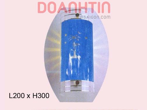 Đèn Tường Kiếng Màu Xanh - Densaigon.com