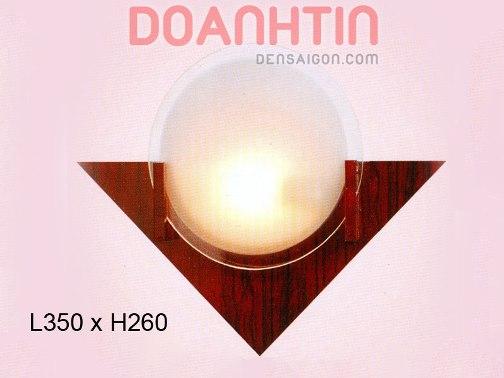 Đèn Tường Gỗ Ánh Sáng Dịu - Densaigon.com
