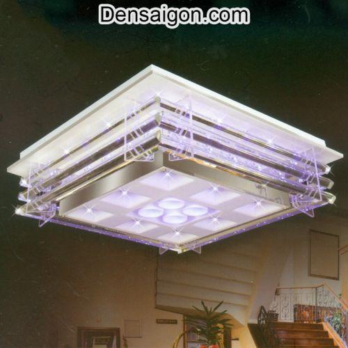 Đèn Áp Trần LED Màu Tím Nhẹ Nhàng - Densaigon.com