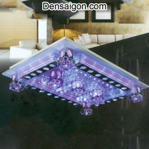 Đèn Áp Trần LED Sắc Tím Sang Trọng - Densaigon.com