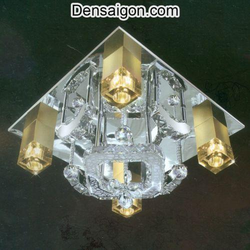 Đèn Áp Trần LED Sang Trọng Treo Phòng Khách - Densaigon.com