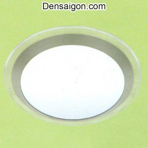 Đèn Áp Trần Tròn Đơn Giản Màu Trắng - Densaigon.com