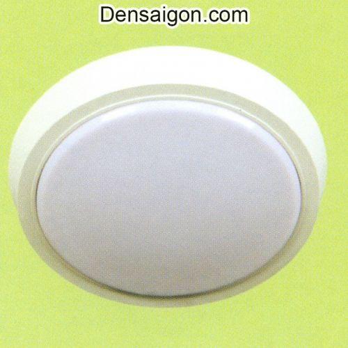 Đèn Áp Trần LED Tròn Hiện Đại Màu Trắng - Densaigon.com