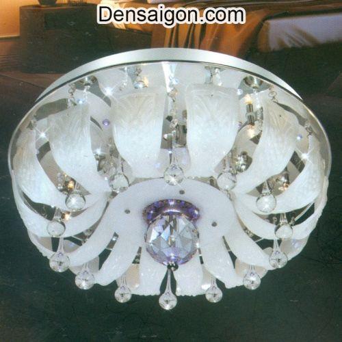 Đèn Chùm Pha Lê LED Màu Trắng Sang Trọng - Densaigon.com