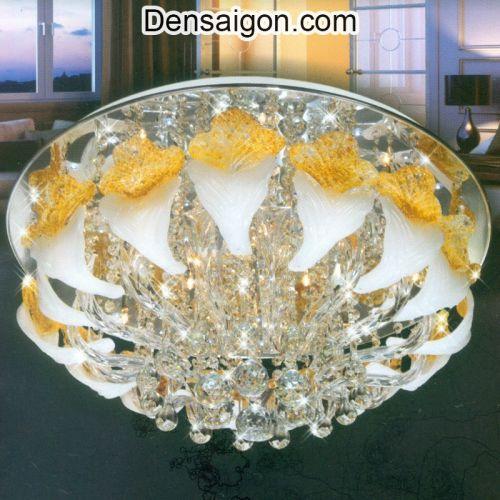 Đèn Chùm Pha Lê LED Thiết Kế Đẹp - Densaigon.com