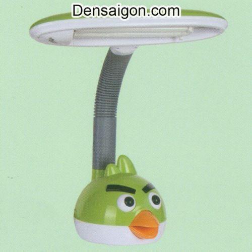 Đèn Bàn Học Angry Bird Màu Lục - Densaigon.com