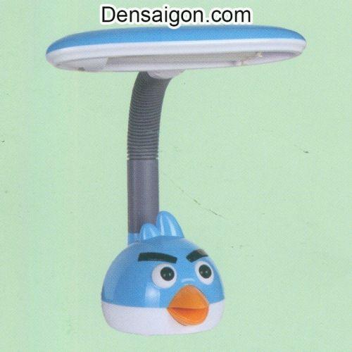 Đèn Bàn Học Angry Bird Màu Xanh - Densaigon.com
