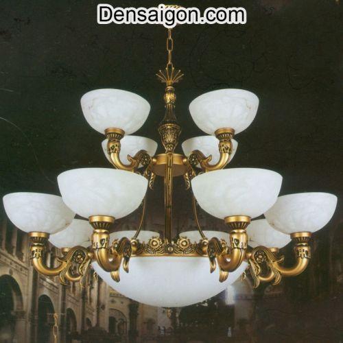 Đèn Chùm Cổ Điển 2 Tầng Đẹp - Densaigon.com