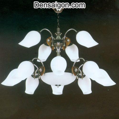 Đèn Chùm Cổ Điển 2 Tầng Thiết Kế Đẹp - Densaigon.com