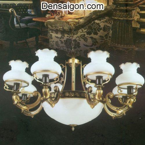 Đèn Chùm Dù Cổ Điển Đẹp Cho Chung Cư - Densaigon.com
