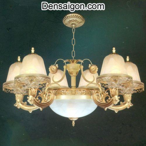 Đèn Chùm Dù Cổ Điển Đẹp Treo Phòng Ăn - Densaigon.com