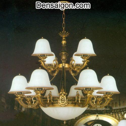 Đèn Chùm Dù Cổ Điển Sang Trọng Trang Trí Đẹp - Densaigon.com