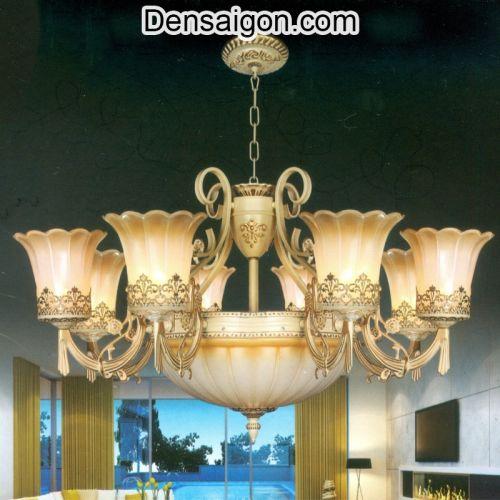 Đèn Chùm Cổ Điển Treo Phòng Khách - Densaigon.com