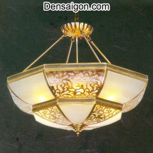 Đèn Chùm Chao Đá Cổ Điển - Densaigon.com