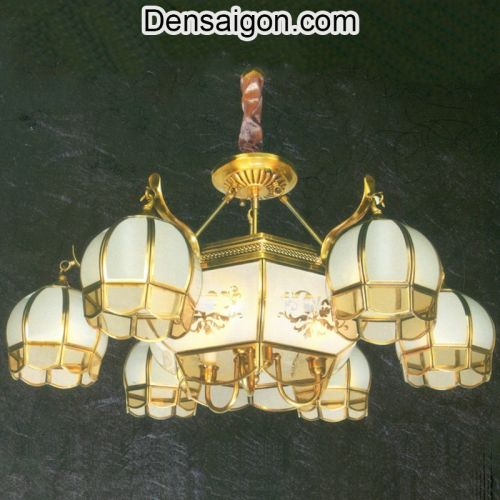 Đèn Chùm Đồng Phong Cách Tân Cổ Điển - Densaigon.com