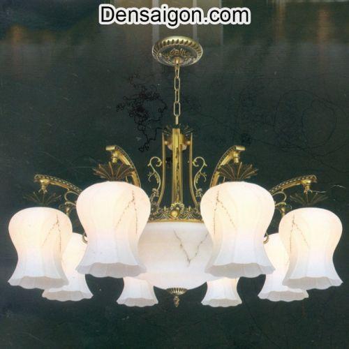 Đèn Chùm Cổ Điển Đẹp Treo Phòng Khách - Densaigon.com
