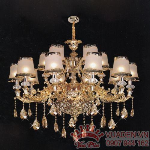 Đèn chùm dù phong cách sang trọng trang trí phòng khách  - Densaigon.com