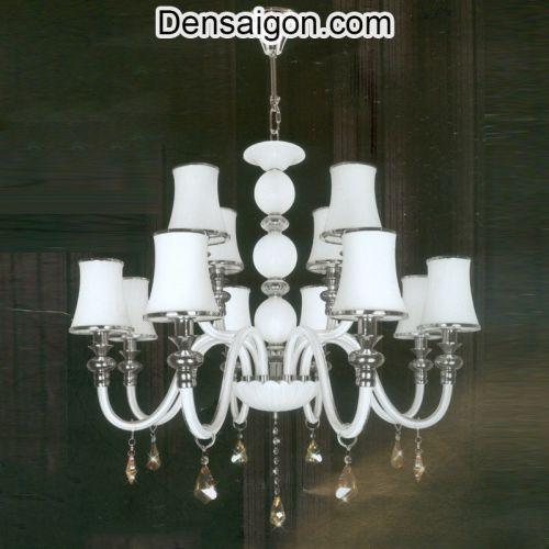 Đèn Chùm Dù Treo Phòng Khách Đẹp - Densaigon.com