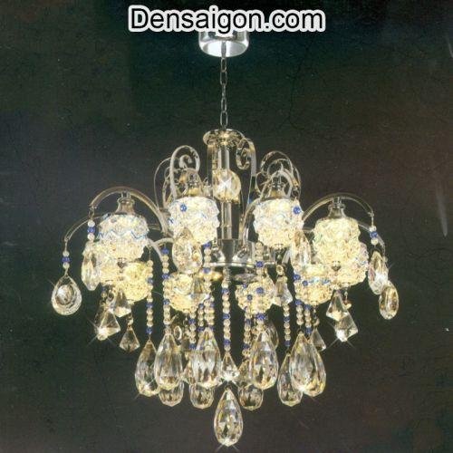 Đèn Chùm LED Pha Lê Lung Linh Trang Trí Đẹp - Densaigon.com