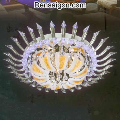 Đèn Chùm LED Pha Lê Thiết Kế Độc Đáo - Densaigon.com