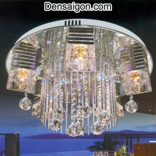 Đèn Chùm LED Pha Lê Thiết Kế Tinh Tế - Densaigon.com