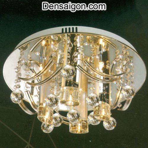 Đèn Chùm LED Pha Lê Trang Trí Đẹp - Densaigon.com