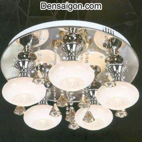 Đèn Chùm LED Pha Lê Treo Phòng Khách Giá Rẻ - Densaigon.com