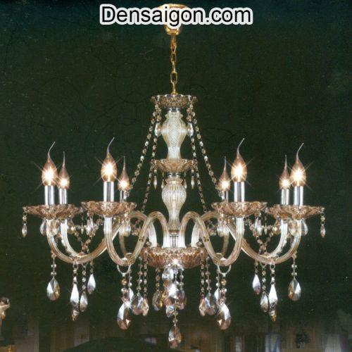 Đèn Chùm Nến Pha Lê Đẹp Tinh Tế - Densaigon.com