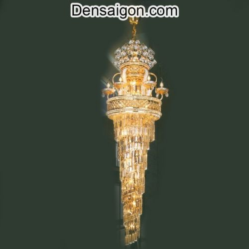 Đèn Chùm Pha Lê Đẹp Tinh Tế - Densaigon.com