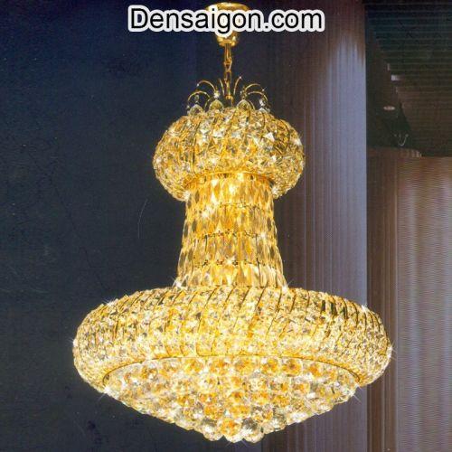Đèn Chùm Pha Lê LED Phong Cách Cổ Điển - Densaigon.com