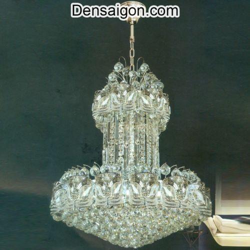 Đèn Chùm Pha Lê LED Thiết Kế Sang Trọng - Densaigon.com