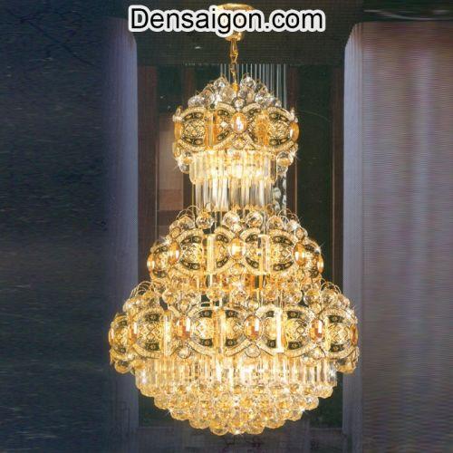Đèn Chùm Pha Lê LED Trang Trí Đẹp - Densaigon.com