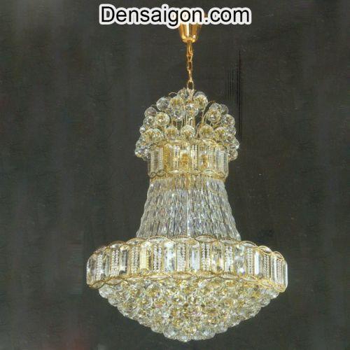 Đèn Chùm Pha Lê LED Treo Phòng Khách - Densaigon.com