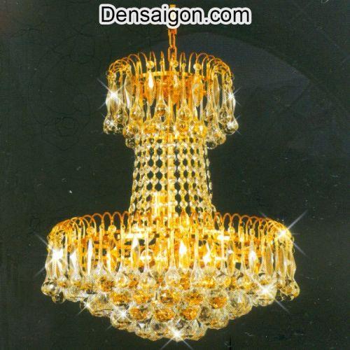 Đèn Chùm Pha Lê Phong Cách Cổ Điển - Densaigon.com