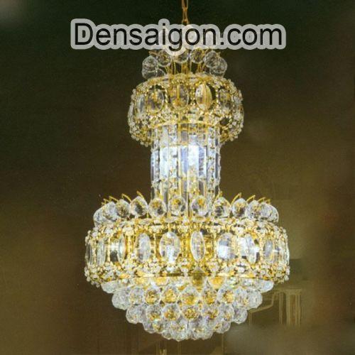 Đèn Chùm Pha Lê Phòng Khách Đẹp - Densaigon.com