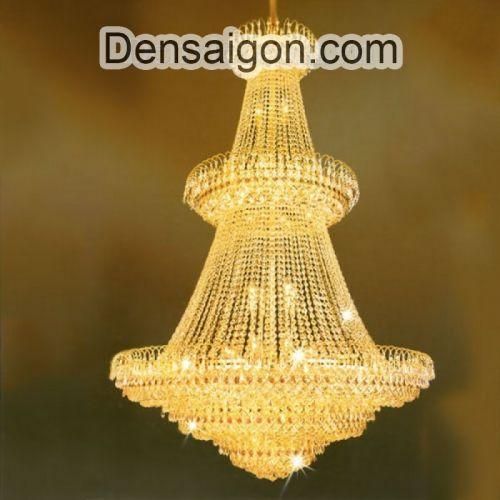 Đèn Chùm Pha Lê Thiết Kế Hoành Tráng - Densaigon.com