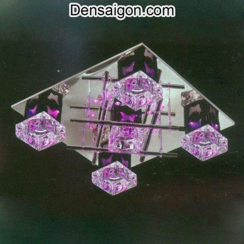 Đèn LED Áp Trần Màu Hồng Đẹp Giá Rẻ - Densaigon.com