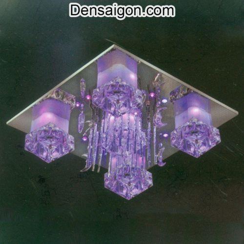 Đèn LED Áp Trần Màu Tím Đẹp Giá Rẻ - Densaigon.com