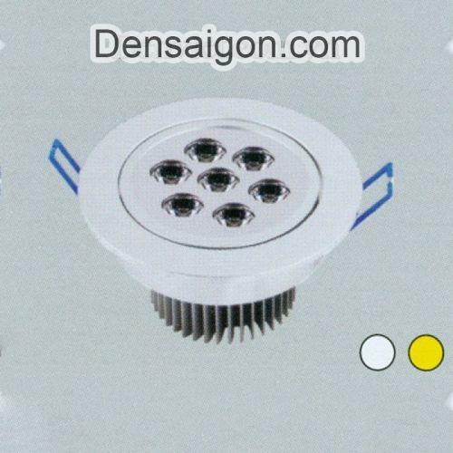 Đèn Lon Âm Trần LED Thiết Kế Nhỏ Gọn - Densaigon.com
