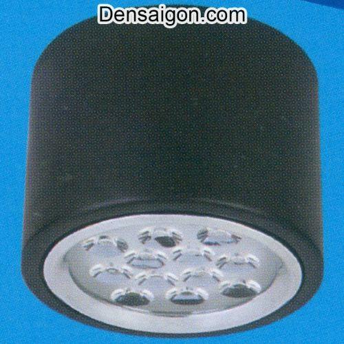 Đèn Lon Nổi LED Đơn Giản Màu Đen - Densaigon.com