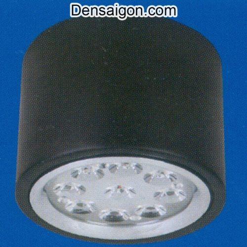 Đèn Lon Nổi LED Màu Đen Đơn Giản - Densaigon.com