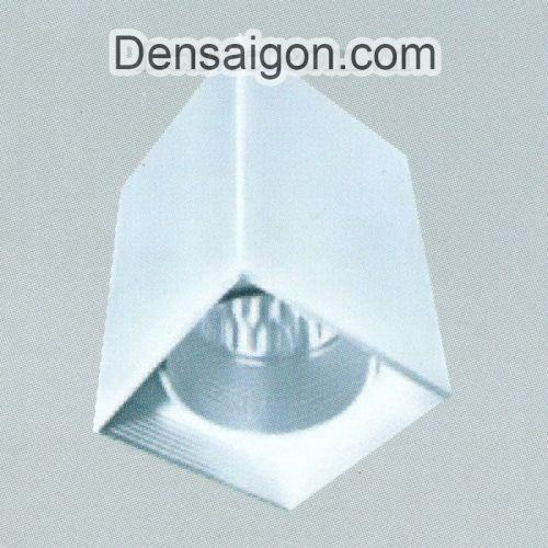 Đèn Lon Nổi Vuông Màu Đen Thiết Kế Hiện Đại - Densaigon.com
